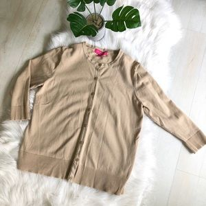 Like-New Liz Lange 3/4 Sleeve Maternity Cardigan M